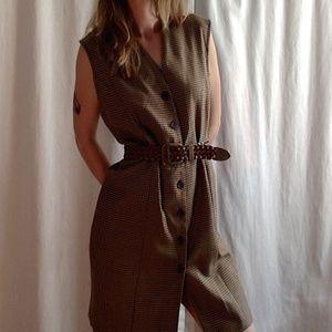 <VTG> Fall Houndstooth Dress